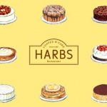 HARBS ストロベリーチョコレートケーキを食べてみた